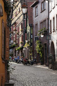 The picturesque village of Riquewihr in Alsace