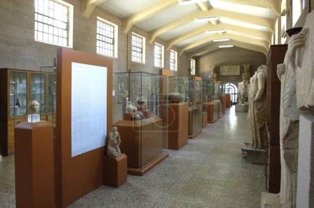 Greece, museum of historical ancient Corinth
