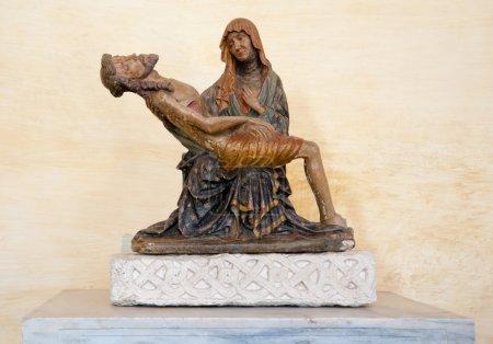La pieta statue inside Basilica