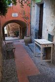 Medieval Italian Village, Cervo, Liguria, Italy