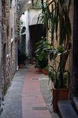 Medieval italian village Cervo, Liguria, Italy