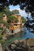 on the way to Portofino, Liguria, Italy