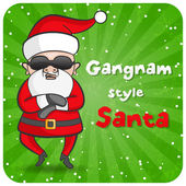 Gangnam style Santa