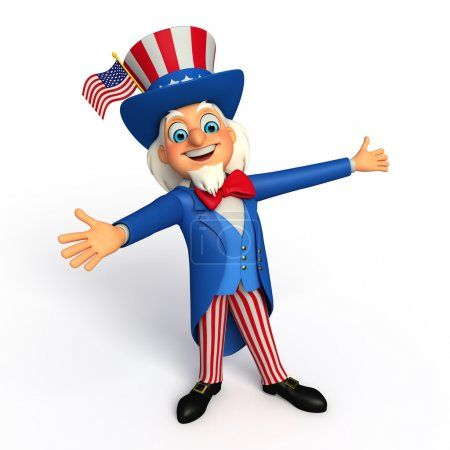 Uncle sam illustration