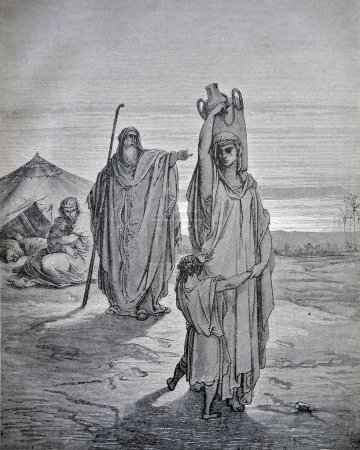 RUSSIA - CIRCA 1913: An engraving printed in Russia shows image