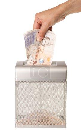 Shredding Money