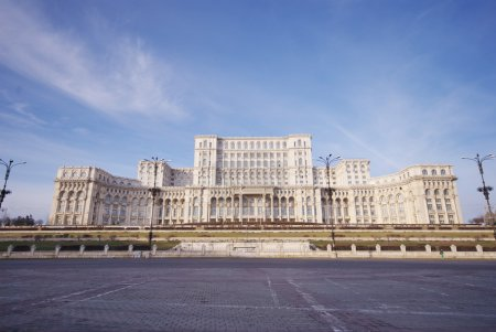 The Palace of the Parliament, Bucharest, Romania
