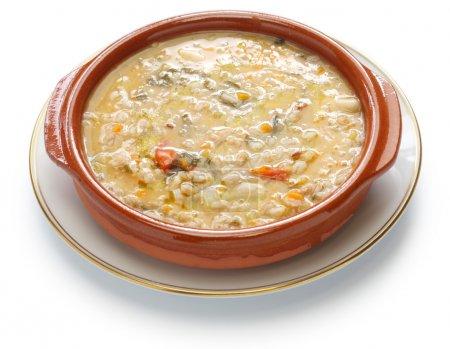 soupe d'épeautre, soupe d'épeautre, cuisine italienne