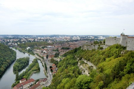Besancon seen from the Citadel