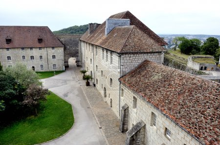 The citadel of Besancon in France