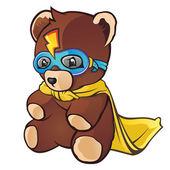 Super hrdina medvídek kreslený