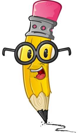 Smart Pencil Character