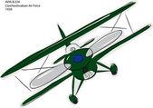 Avia B534 Biplane Sketch