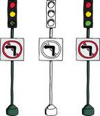 No Left Turn Signal
