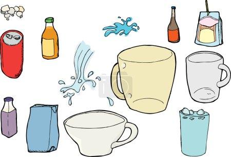Assorted Beverage Images