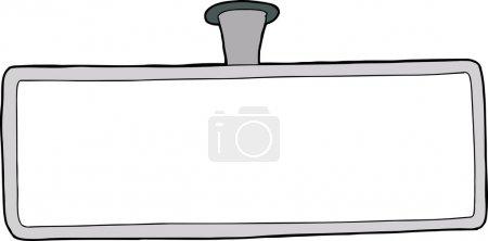 Blank Rear Mirror