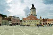 The council square in Brasov, Romania