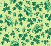 Seamless background from bunches of grapes