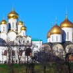 Old orthodox church. Moscow Kremlin, UNESCO World ...