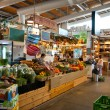 Famous indoors Mediterranean style food market in ...