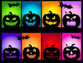 Halloween Pumpkins Colors