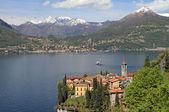 Fantastic landscape of Lake Come with Varenna village