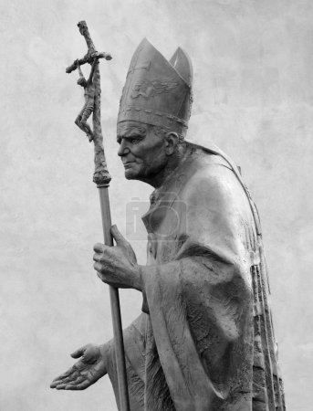 Sculpture of Pope John Paul II by Zemla ( Blessed John Paul or