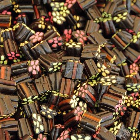 Black Liquorice Shooters candies