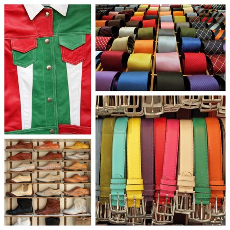 Italian fashion collage