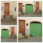Doors collage, Italy...