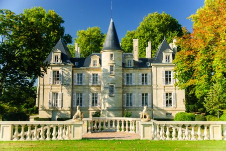 Chateau Pichon Lalande in region Medoc, France