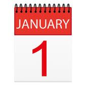 Sheet calendar (January 1)
