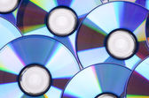 DVD na bílém pozadí