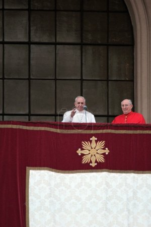 Pope Francis I during the settlement St. John Lateran, Rome