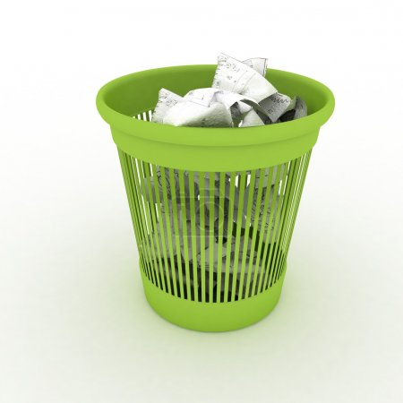 Basket for garbage
