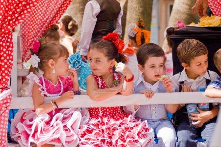 TORREMOLINOS, SPAIN - SEPTEMBER 23: Pilgrims participate in the traditional Romeria