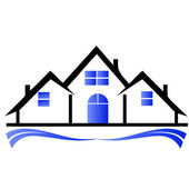 Houses and townhouses logo