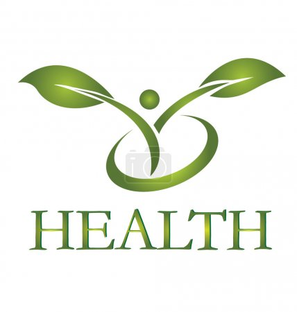 Illustration for Healthy life logo vector EPS10 - Royalty Free Image