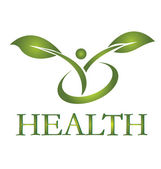 Healthy life logo vector EPS10
