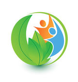 in harmony with the nature logo