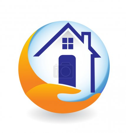 House logo for insurance company
