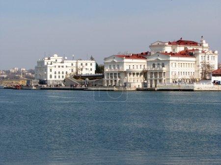 Embankment of Sevastopol cityl, Crimea, Ukraine