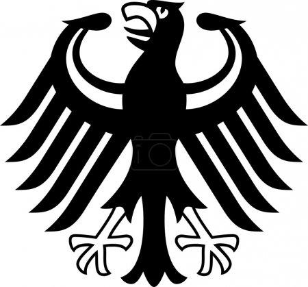 Photo pour Armoiries Allemagne - image libre de droit