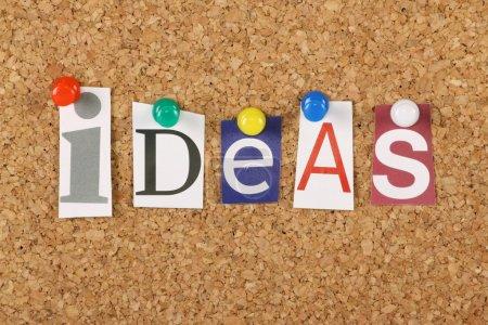 The word Ideas