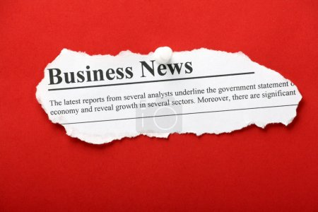 Business News Headlines