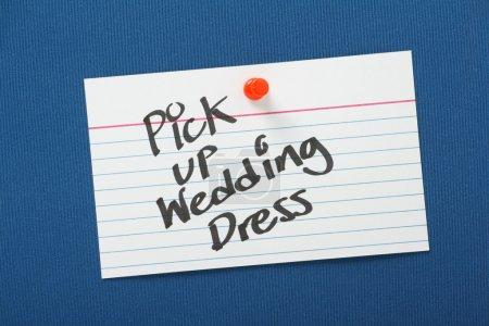 Pick Up Wedding Dress