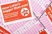 Lotto spielen rutscht