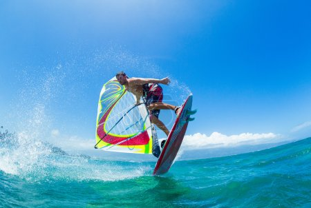 Windsurfing, Fun in the ocean, Extreme Sport...