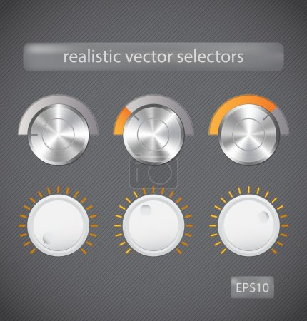 Realisitc vector selectors