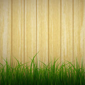 grass and wood